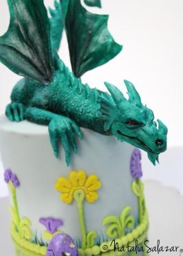 Dragón en RKT y Fondant